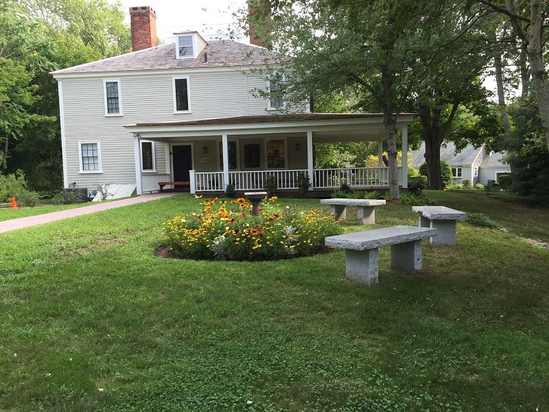 historic house garden